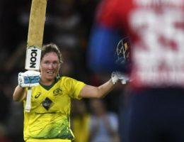 Australia beats England in first Women's Ashes match