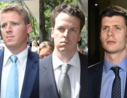 Bashing accused front court as victims of alleged attack deny starting fight