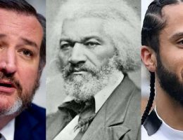 Cruz adds 'context' after Kaepernick quotes from Frederick Douglass 'Fourth of July' speech