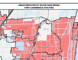 Fort Lauderdale water main break threatens to leave more than 100,000 dry