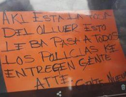Gente Nueva dismembered man in Empalme, Sonora