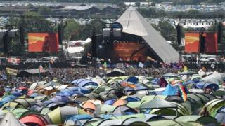 Glastonbury Festival: Security guard found dead in tent
