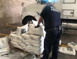 Half a Ton of Crystal in Bags of Fertilizer Headed to Ensenada, BC