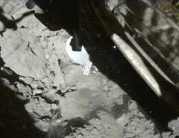 Hayabusa2 lands on an asteroid and sends back amazing pictures to prove it