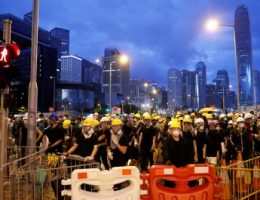 Hong Kong protests enter a new phase
