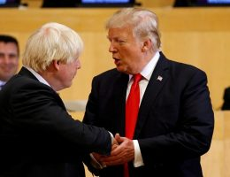 Johnson and Trump both need a victory abroad. Pacifying the Middle East is...