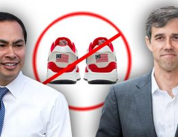 Julián Castro, Beto O'Rourke back Nike, saying Betsy Ross flag is 'hurtful'