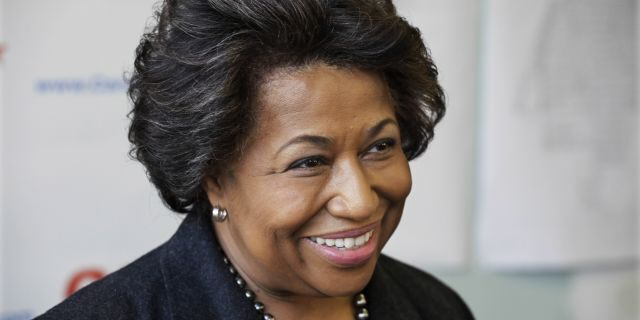 Former U.S. Sen. Carol Moseley Braun. (Associated Press)