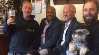 Lesotho king in surprise visit to UK pub