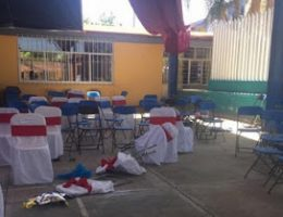 """Los Rojos"" in Puebla: 30 Minute Shootout at Kindergarten Graduation"