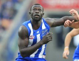Majak Daw relearns how to walk for return to playing football