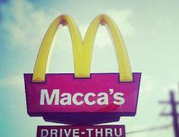 McDonald's in Australia and the United States compared