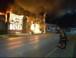 Monclova Coahuila: CDN sets fire to businesses