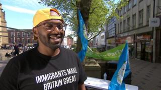 New MEP Magid Magid 'asked to leave' European Parliament building