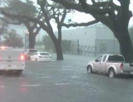 New Orleans, already grappling with extreme weather, may face hurricane by week's end