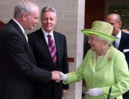 Photos of Queen removed from NI government office