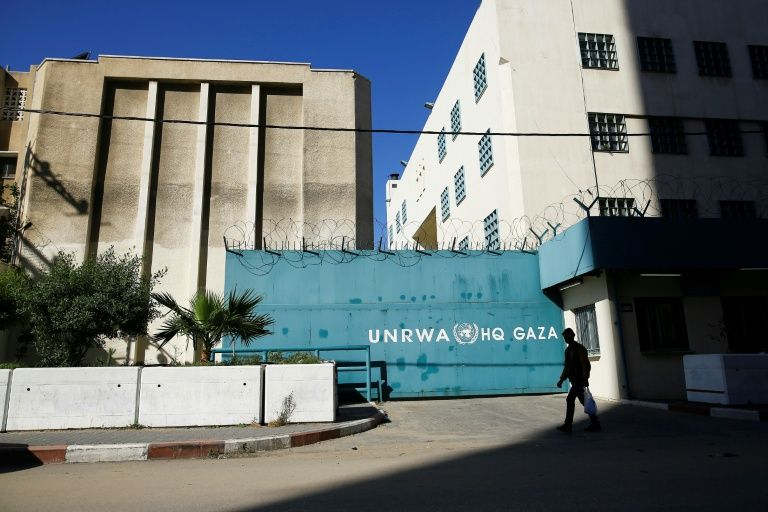 The United Nations Relief and Works Agency (UNRWA) said it is cooperating fully with the investigation into allegations of mismanagement and abuses of authority at the highest level of the agency (AFP Photo/MOHAMMED ABED)