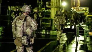Royal Marines used brute force, says tanker captain