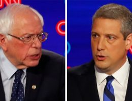 Ryan, Sanders clash over climate change solutions: 'You don't have to yell'