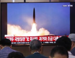 Seoul: North Korea launches 2 short-range ballistic missiles