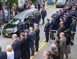 Sept. 11 first responders advocate Luis Alvarez hailed as a hero at funeral