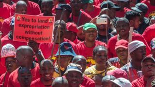 South Africa presidential panel backs limited land seizures
