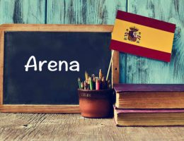Spanish Word of the day: 'Arena'