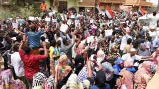 Sudan crisis: New sense of hope for young revolutionaries