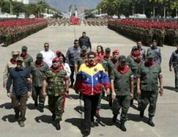 The Criminal Ties of Maduro's New Military Chiefs in Venezuela