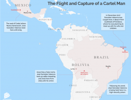 The Flight and Capture of a Cartel Man