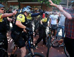 Trump decries 'gutless' Antifa, says he's weighing declaring group major terror organization