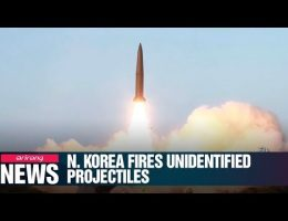 U.S. And South Korea: North Korea Fires 2 Short-Range Ballistic Missiles