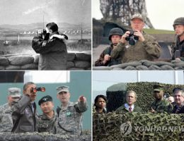 U.S. Presidents At The DMZ