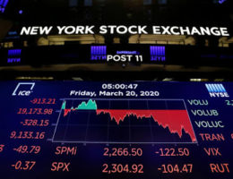 2020 Is The Year That Global Markets Experienced The Most Destructive Sell-Off Since The Great Depression