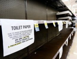 California man runs toilet paper exchange on street corner as coronavirus leads to shortages