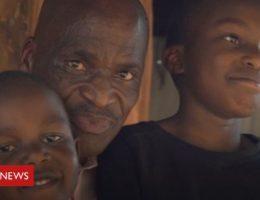 Coronavirus: A father's fears in Kenya's crowded Kibera settlement