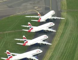Coronavirus: British Airways suspends all Gatwick flights