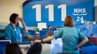 NHS 111 centre