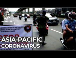 Covid-19 Coronavirus Pandemic In Asia -- March 16, 2020