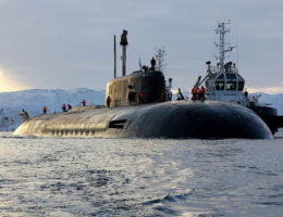 Entire Crew Aboard A Russian Nuclear Submarine Are In Quarantine After Being Exposed To Covid-19