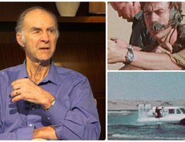 Explorer Sir Ranulph Fiennes tells his favourite tales from the Middle East