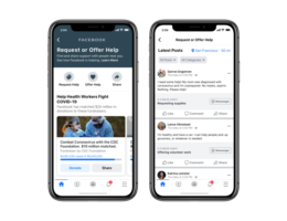 Facebook launches a global version of its Community Help feature in response to the COVID-19 pandemic