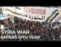 Fighting In Syria Enters Its Tenth Year