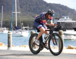 How triathlons transformed this domestic violence survivor's life