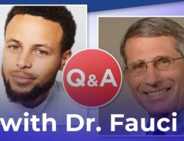 Look who got to Interview Dr. Fauci – the top Infectious Disease Doctor in the United States