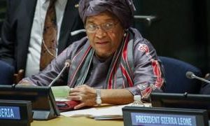 Message from president who led Ebola battle