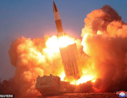 North Korea Launches More Missiles Into The Sea Of Japan