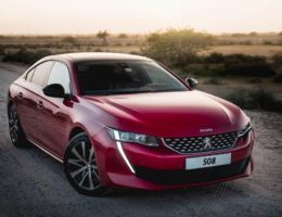 Peugeot 508 Wins 'Public Car of the Year' at the 2020 Middle East Car of the Year Awards