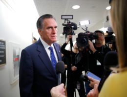 Romney tests negative for coronavirus, but remains absent in Senate