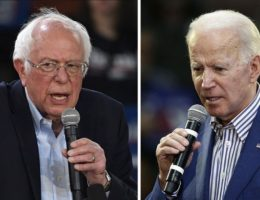 Sanders clashes with Biden at debate over claims he sought Social Security cuts